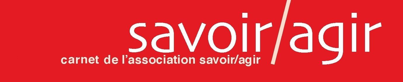 Le carnet de Savoir/Agir